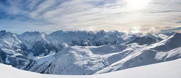 Panorama des Alpes Tiroler sur Sjoerd van der Wal