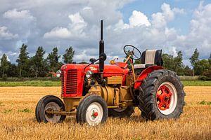 Historische tractor van Bram van Broekhoven