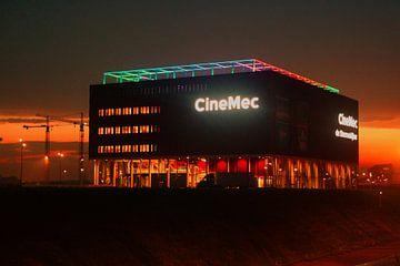 Sonnenuntergang im Kino des CineMec Utrecht von de Utregter Fotografie