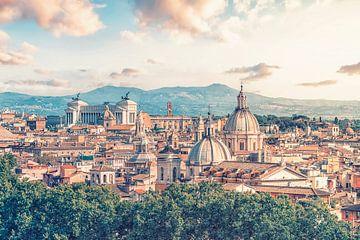 Die Dächer von Rom von Manjik Pictures