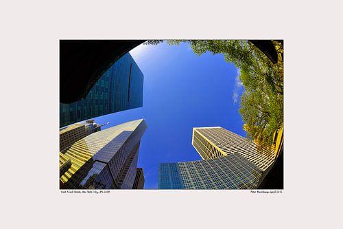 wolkenkrabbers New York City van