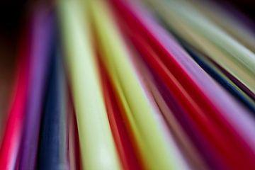 Abstrakte Farbstrahlen von Cathy Roels
