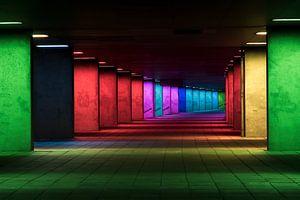 De Licht-Arcade in Rotterdam van Peter Struyken