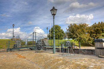 HDR foto van Dirkslanse Sas een sluizencomplex in Dirksland van W J Kok
