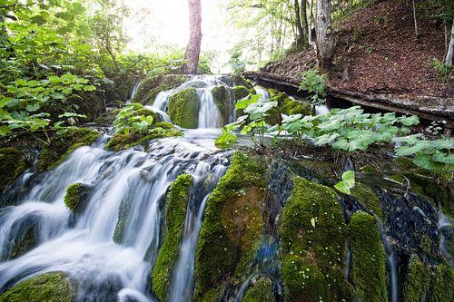 Waterval Plitvice Kroatië