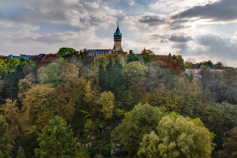 Herfst in Luxemburg van Jasper den Boer