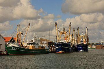 Vissersschepen Oudeschild Texel von Ruud Lobbes