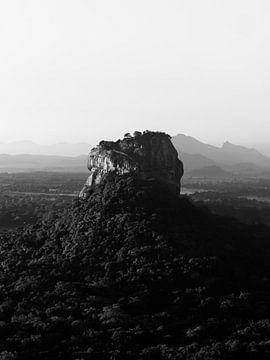 Sigiriya-Felsen Sri Lanka von Ward Jonkman