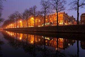 De Catharijnesingel in Utrecht tussen de Martinusbrug en de Schroeder van der Kolkstraat