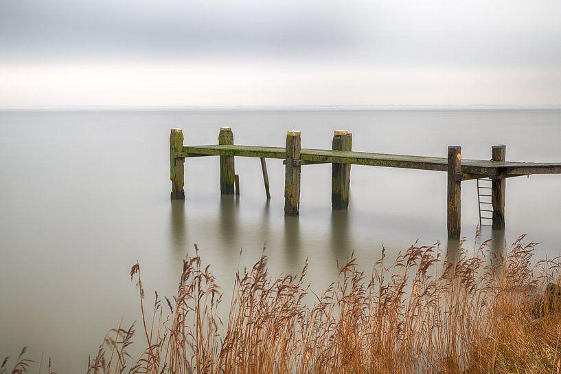 Zicht op het meer van Mark Bolijn
