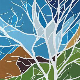 Bunter Baum von Color Square