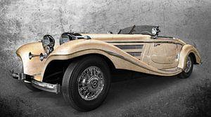 Mercedes-Benz 540 K Spezial Roadster in antique chamois von aRi F. Huber