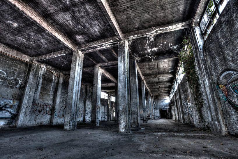 Oude fabriek van Albert Mendelewski