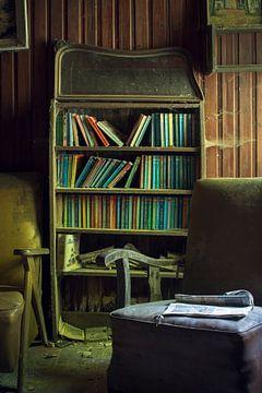 boekenkast van Maarten De Schrijver