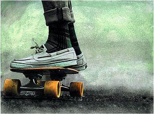 Skateboard van Nora Bland