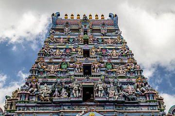 Hindutempel in Victoria auf den Seychellen von Reiner Conrad