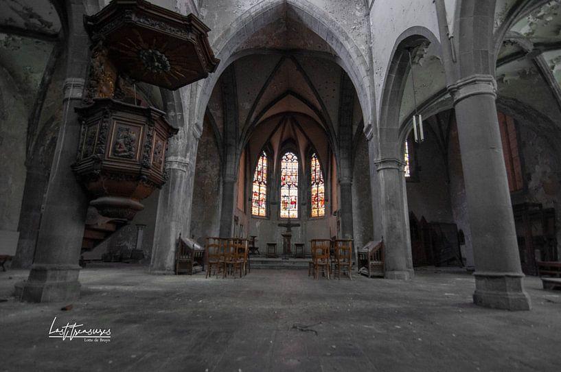 Kirche von lotte .de Bruyn