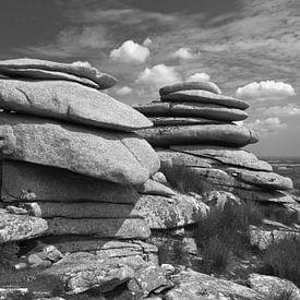 Stowe's Hill, Minions, Bodmin Moor, Cornwall, Großbritannien von Jörg Hausmann