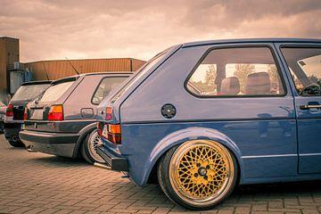 Volkswagen golf mk1 van Jeroen Bisschop