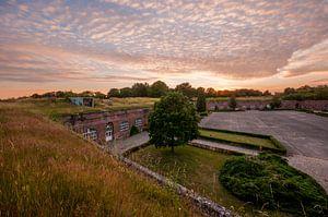 Zonsondergang Citadel van Diest