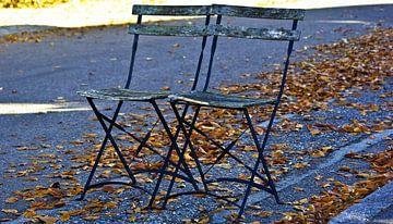 Deux chaises de rue (photo grand écran) sur Norbert Sülzner