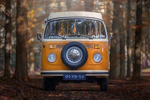 Klassieke Volkswagen T2B uit 1977 van GoWildGoNaturepictures