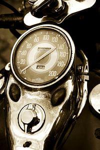Kilometerteller Harley Davidson van