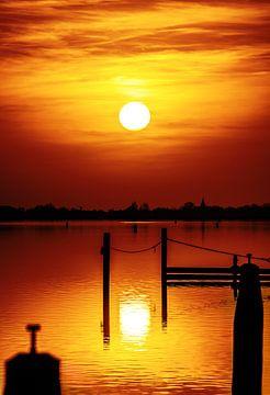 Zonsondergang in Morra van Harrie Muis