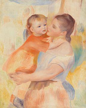 Renoir, Die Wäscherin und ihr Kind (1886)