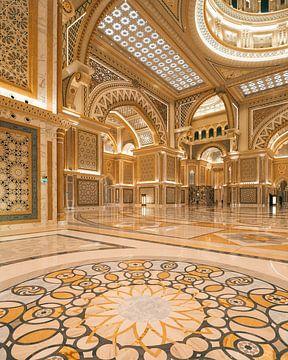 Qasr al Watan, der Palast des Scheichs in Abu Dhabi. von Michiel Dros