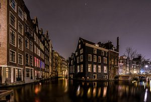 Oudezijds Kolk Amsterdam by Night van