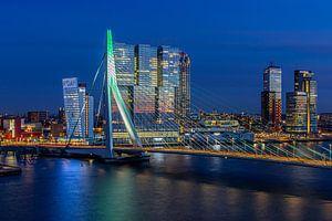 Erasmusbrug Rotterdam Groen-wit-groen