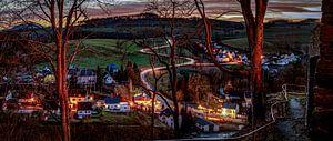Wolkenstein / Erzgebirge Panorama