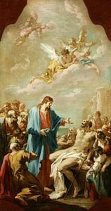 Christus heilt den Gelähmten, Giovanni Antonio Pellegrini