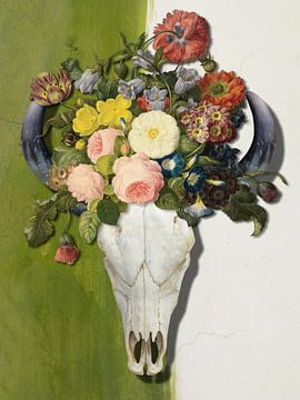 Summer Skull van Marja van den Hurk
