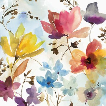 kleurrijke arrangement, Ella K  van PI Creative Art