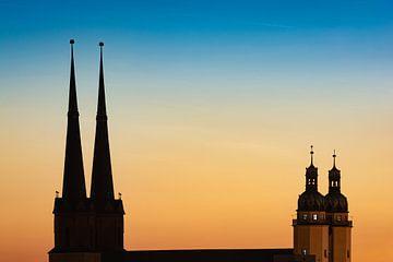 Marienkirche in Halle-Saale von Martin Wasilewski