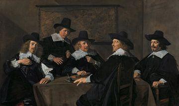 Regenten van het St. Elisabeths Gasthuis, Frans Hals - 1641 sur