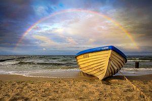 Regenbogen am Ostseestrand