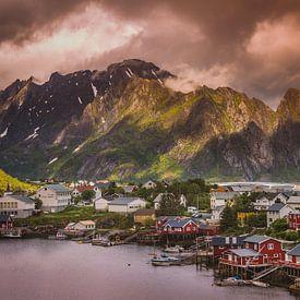 Lofoten Noorwegen van Hamperium Photography