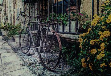 Marzamemi (Sicilie) straatfoto van Mario Calma
