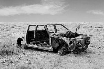 Autowrack Pickup von Inge Hogenbijl