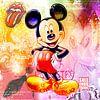 Micky Maus Pastell von Rene Ladenius Digital Art Miniaturansicht