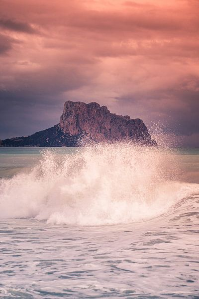 Wintertijd aan zee van Jellie van Althuis