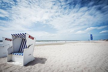 Norderney - Beach van Alexander Voss