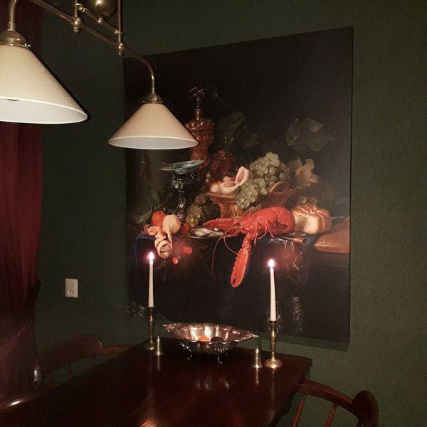 Klantfoto: Pieter de Ring, Stilleven met een gouden bokaal van Meesterlijcke Meesters