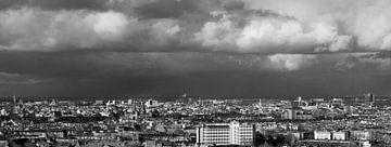 Amsterdams overzicht vanaf de 23ste etage van Rutger Hoekstra