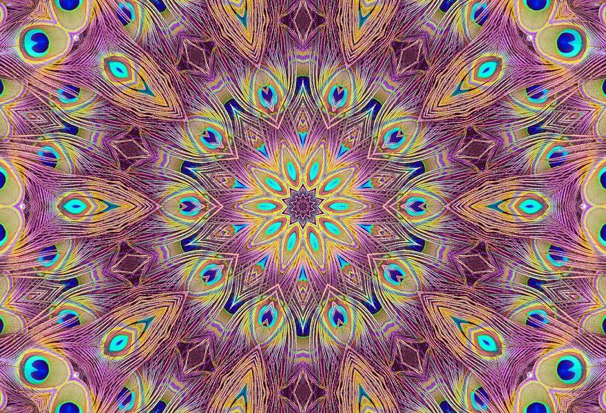 Kaleidoscoop Pauw van Bright Designs