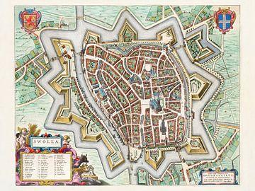 Plattegrond Zwolle - 1649