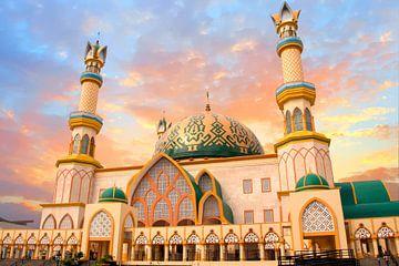 Habbul-Wathan-Moschee auf Lombok in Indonesien von Nisangha Masselink